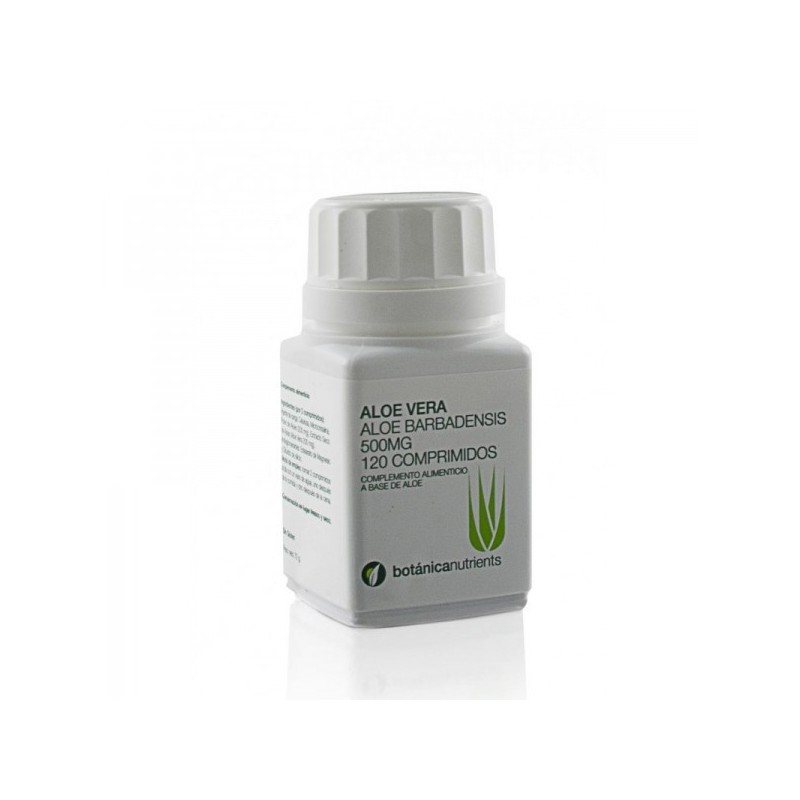 ALOE VERA 120 COMP 500MG-Botánica nutrients