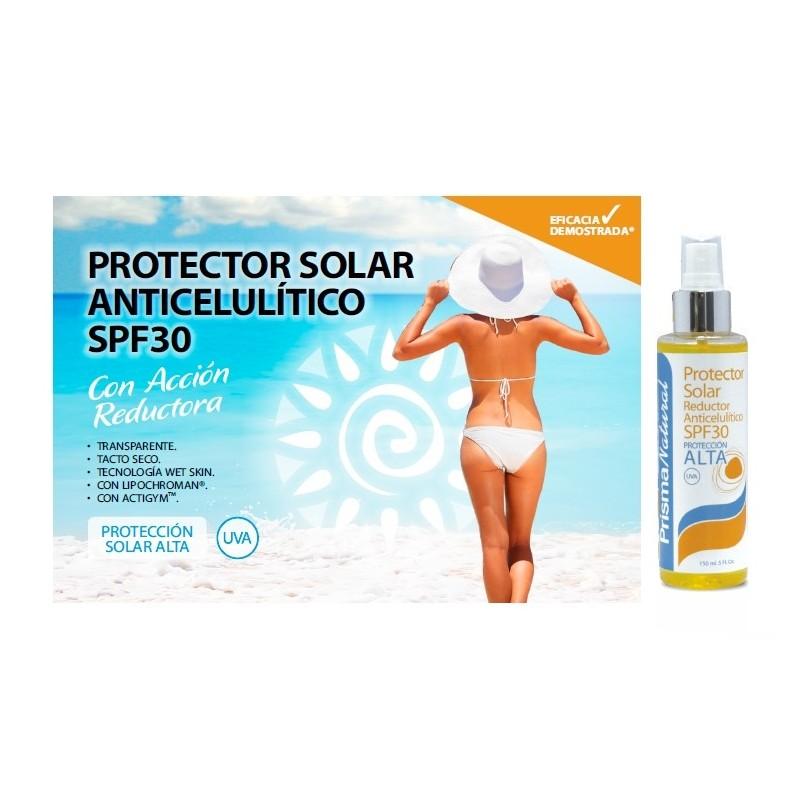 PROTECTOR SOLAR ANTICELULITICO SPF30
