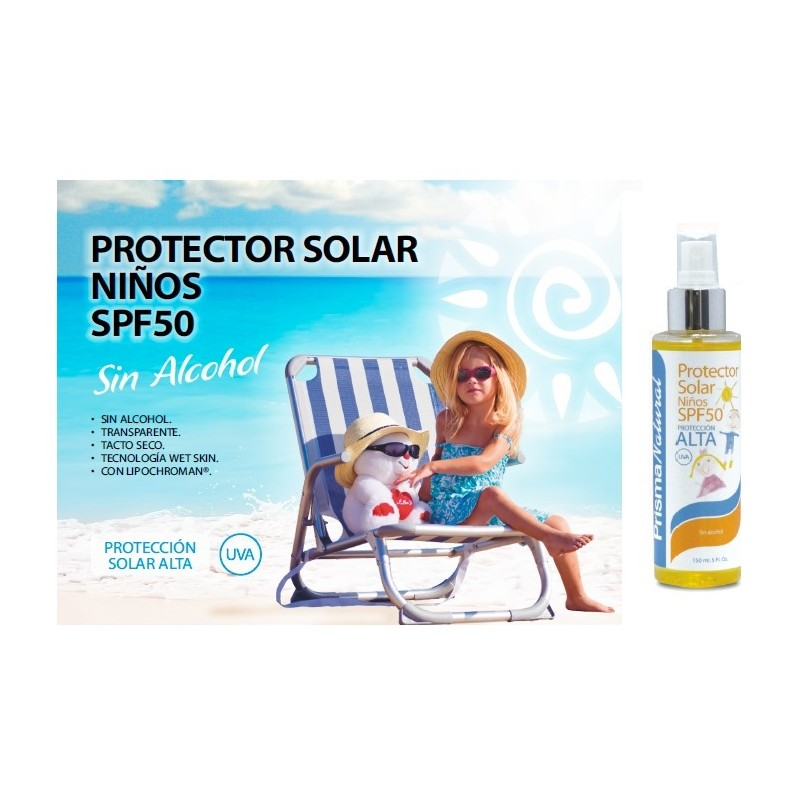 PROTECTOR SOLAR NIÑOS SPF50
