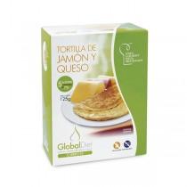TORTILLA DE JAMON Y QUESO GLOBALDIET