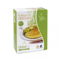 TORTILLA DE VERDURAS GLOBALDIET (5 sobres x 25 g)