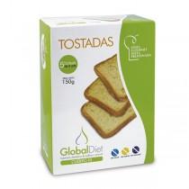 TOSTADAS. 150g. GLOBALDIET