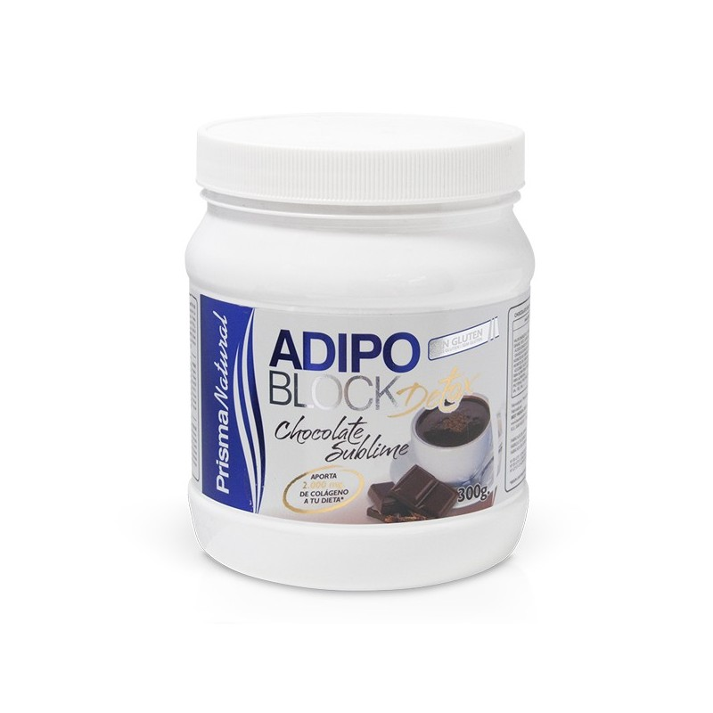 ADIPOBLOCK DETOX. CHOCOLATE SUBLIME. 300g de Prisma Natural