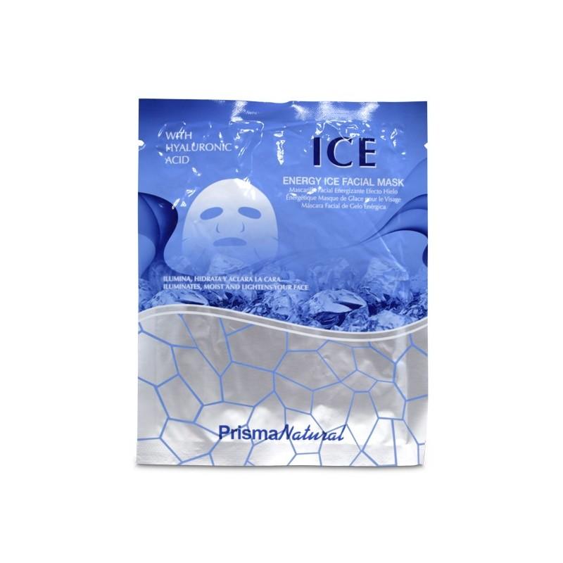 Mascarilla Energizante efecto hielo con colageno de Prisma Natural