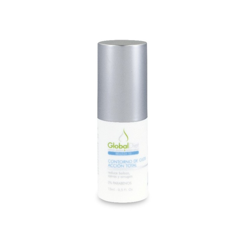 CONTORNO DE OJOS ACCION TOTAL. 15ml. GLOBALDIET