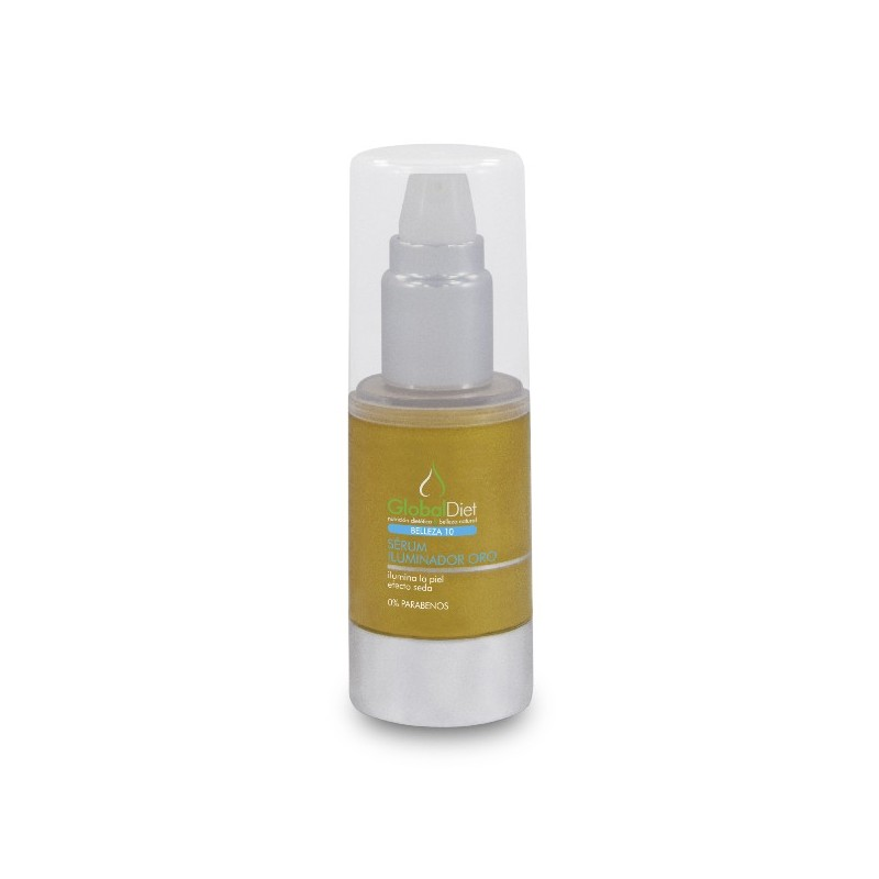 SERUM ILUMINADOR ORO. 30ml. GLOBALDIET