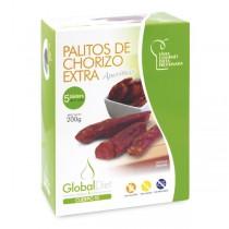 PALITOS DE CHORIZO EXTRA. 200g. GLOBALDIET