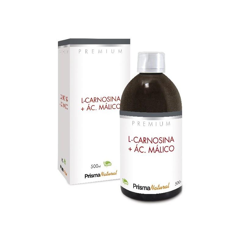 L-CARNOSINA + ÁC. MÁLICO. 500ML de Prisma Natural