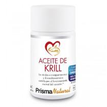 ACEITE DE KRILL. 60 perlas de Prisma Natural