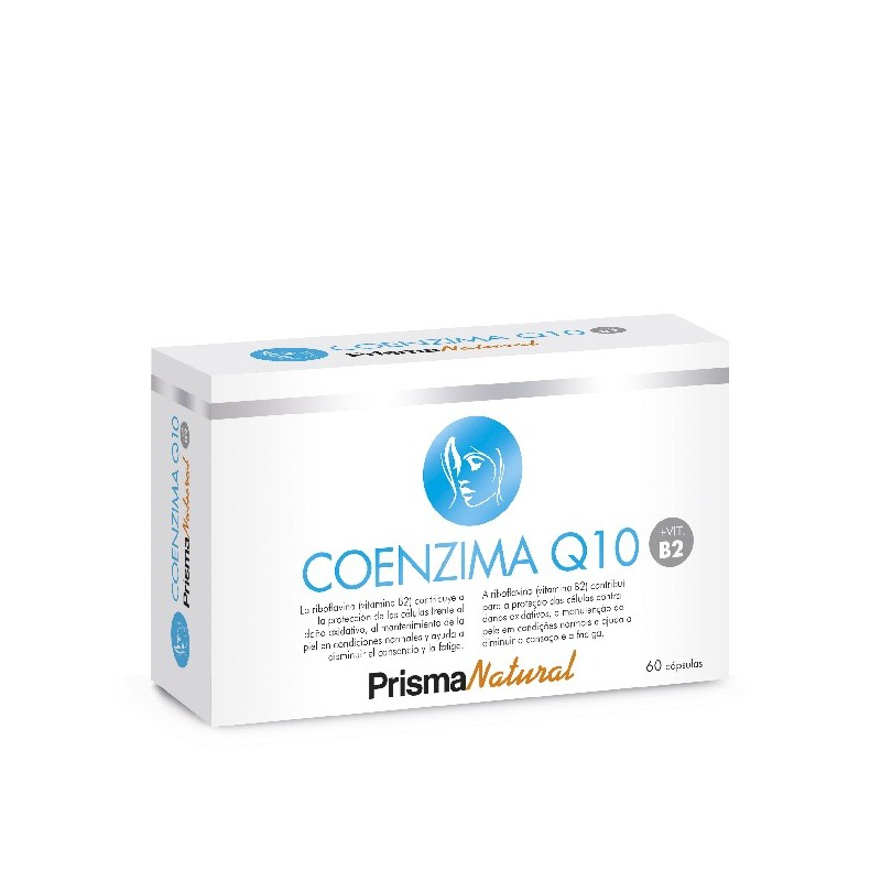COENZIMA Q10 + VITAMINA B2. 60 cápsulas