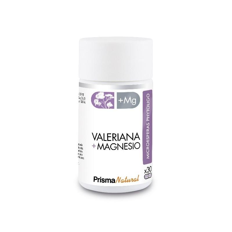 VALERIANA + MAGNESIO. 30 microesferas de Prisma Natural