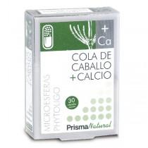 COLA DE CABALLO + CALCIO. 30 microesferas de Prisma Natural