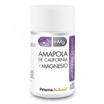 AMAPOLA DE CALIFORNIA + MAGNESIO. 30 microesferas de Prisma Natural