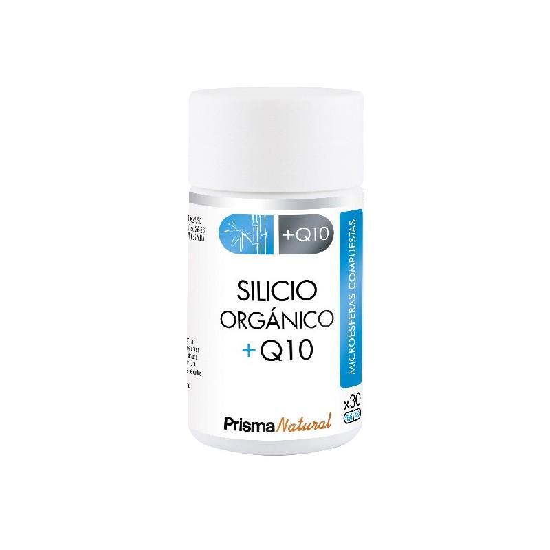 SILICIO ORGÁNICO + Q10. 30 microesferas de Prisma Natural