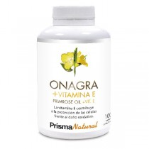 ONAGRA + VITAMINA E. 100 perlas de Prisma Natural