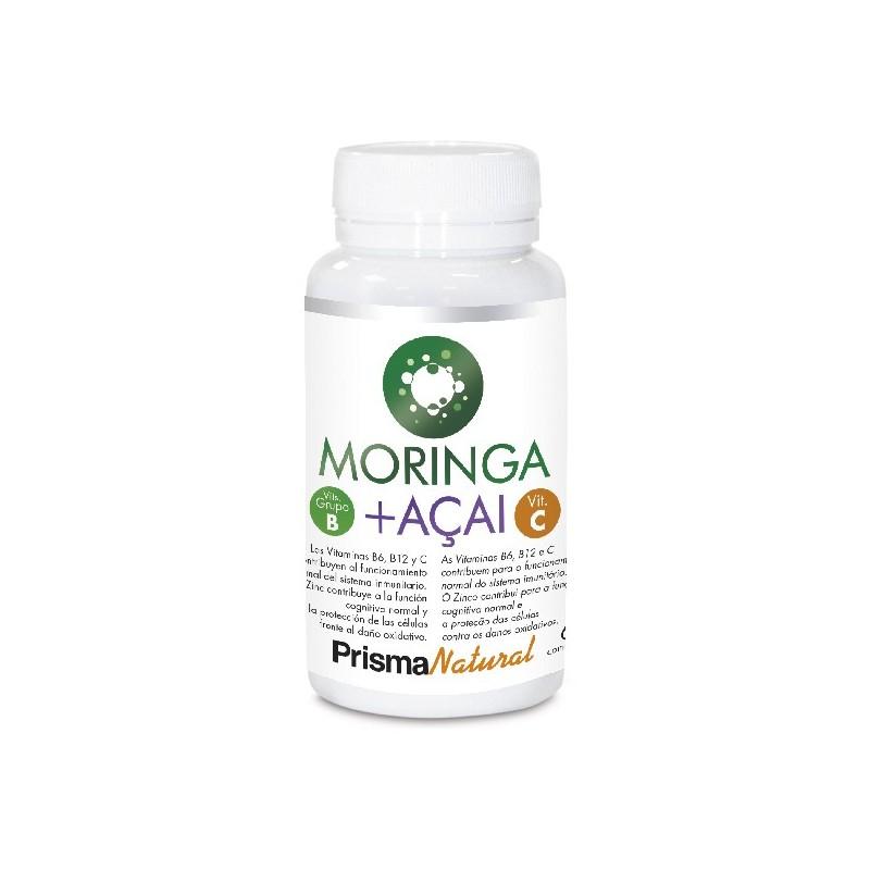 Moringa + Açai. 60 comprimidos de Prisma Natural