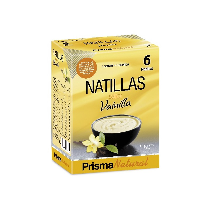 Natillas de Vainilla de Prisma Natural