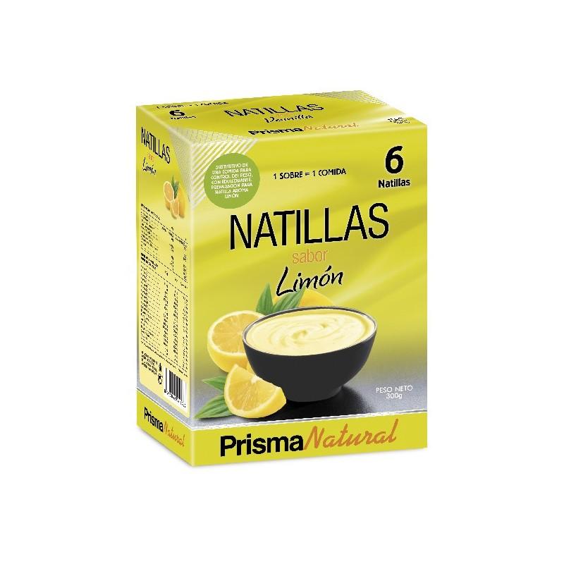 Natillas de Limón de Prisma natural