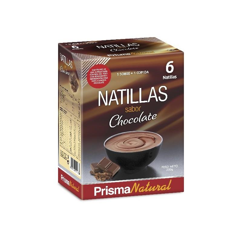 Natillas de Chocolate de Prisma Natural