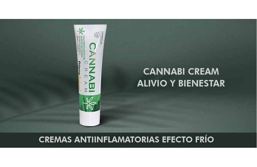 Cremas antiinflamatorias efecto frío
