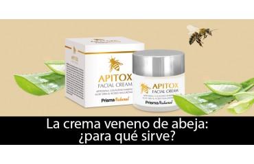 La crema veneno de abeja: ¿para qué sirve?